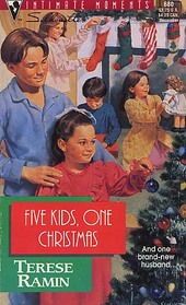Five Kids, One Christmas (Silhouette Intimate Moments, No 680)