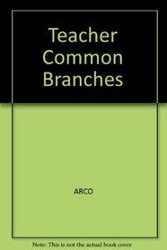 Teacher Common Branches
