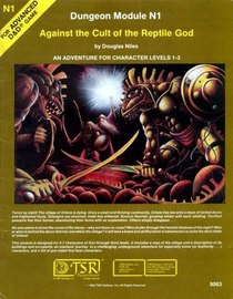 Against the Cult of the Reptile God (Advanced Dungeons & Dragons)