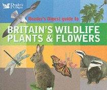 Britain's Wildlife, Plants and Flowers (Readers Digest)