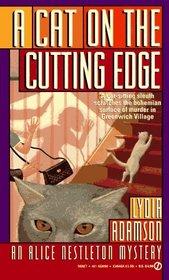 A Cat on the Cutting Edge (Alice Nestleton, Bk 9)