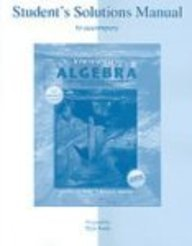 SSM t/a Intermediate Algebra, The Language and Symbolism of Mathematics