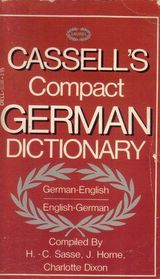Cassell's Compact German-English English-German Dictionary