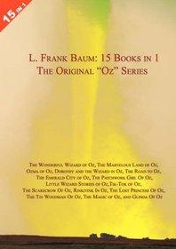 LARGE 15 Books in 1: L. Frank Baum's Original