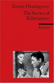 THE SNOWS OF KILIMANJARO: Up in Michigan; On the Quai at Smyrna; Indian Camp; The Doctor and the Doctor's Wife; The End of Something; The Three Day Blow; The Battler; A Very Short Story; Soldier's Home; Revolutionist; Mr and Mrs Elliot; Cat in the Rain
