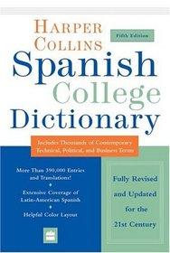 HarperCollins Spanish College Dictionary 5th Edition (Harpercollins College Dictionaries)