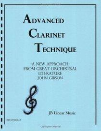 Advanced Clarinet Technique