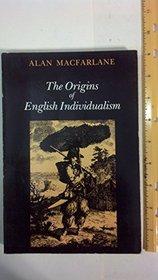 The Origins of English Individualism