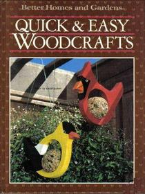 Quick and Easy Woodcrafts
