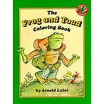 The Frog and Toad Coloring Book