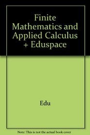 Wilson Applied Calculus And Finite Math Plus Eduspace