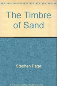 The Timbre of Sand