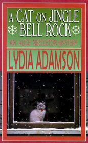 A Cat on Jingle Bell Rock (Alice Nestleton, Bk 15) (Large Print)