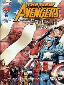 The New Avengers Guest Starring The Fantastic Four (Military Comic,  No 1)