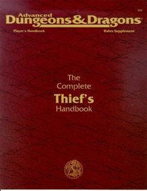 Complete Thief's Handbook: Player's Handbook and Rules Supplement  (Advanced Dungeons and Dragons)