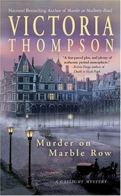 Murder on Marble Row (Gaslight, Bk 6)