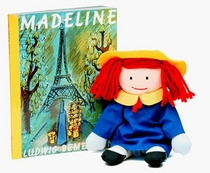 The Madeline Book and Toy Box