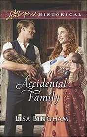 Accidental Family (Bachelors of Aspen Valley, Bk 2) (Love Inspired Historical, No 417)