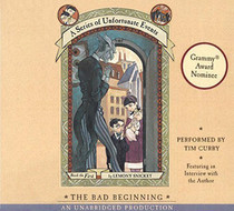The Bad Beginning (A Series of Unfortunate Events, Bk 1) (Audio CD) (Unabridged)