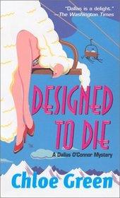 Designed to Die (Dallas O'Connor)