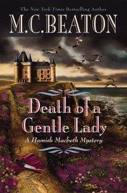 Death of a Gentle Lady (Hamish MacBeth, Bk 24)