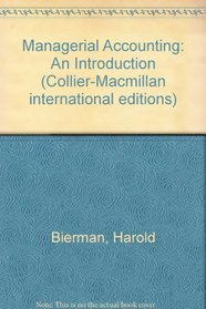 Managerial Accounting: An Introduction