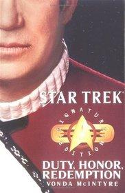 Duty, Honor, Redemption (Star Trek: All)