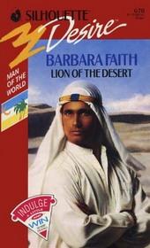 Lion of the Desert (Silhouette Desire, No 670)