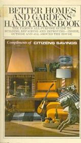 Handyman's Book, Better Homes and Gardens