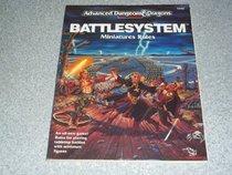 Battlesystem: Miniatures Rules (Advanced Dungeons  Dragons)