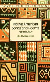 Native American Songs and Poems : An Anthology (Dover Thrift Editions)