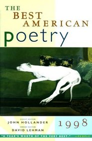The Best American Poetry 1998 (Best American Poetry)