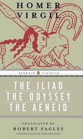 Iliad, Odyssey, and Aeneid box set (Penguin Classics Deluxe Editio)