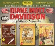 Diane Mott Davidson: Dying for Chocolate, Catering to Nobody, the Last Suppers
