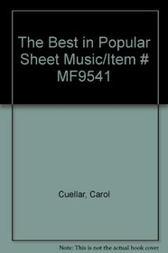 The Best in Popular Sheet Music/Item # MF9541