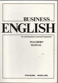 Business English: An Individualised Learning Programme: Teacher's Manual