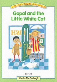 One, Two, Three and Away!: Green Book 1B - Gopal and the Little White Cat (One, Two, Three and Away!)