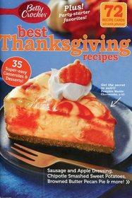 Best Thanksgiving Recipes