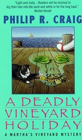 A Deadly Vineyard Holiday  (A Martha's Vineyard Mystery Book #8)