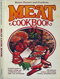Meat  (Better Homes and Gardens Cookbook Series)