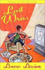 Last Writes (Jaine Austen, Bk 2)