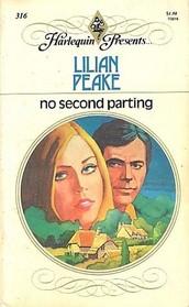 No Second Parting (Harlequin Presents # 316   )