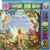 Disney Fairies Tinker Bell and Friends Storybook and Kaleidoscope Viewer