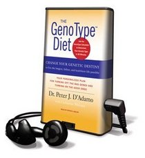 Genotype Diet, The - on Playaway