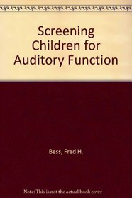 Screening Children for Auditory Function
