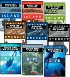 Three Complete Gordon Korman Trilogies: Dive 1-3: The Discovery, The Deep, and The Danger; Everest 1-3: The Contest, The Climb, and The Summit; and Island 1-3: Shipwreck, Survival, and Escape (9-Book Set)