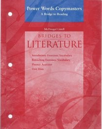 Bridges to Literature: Power Words Copymasters, A Bridge to Reading Level 2