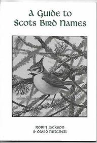 Guide to Scots Bird Names