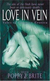 Love in Vein: Tales of Vampire Erotica