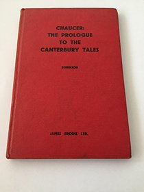 CANTERBURY TALES: PROLOGUE (CHOSEN ENGLISH TEXTS)
